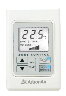 Zone Controller or Sensor Options