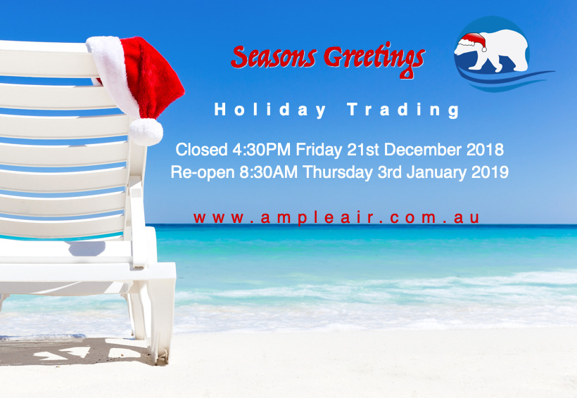 Holiday Period Closure