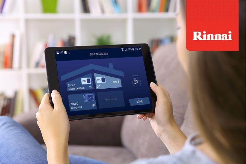 NEW: Rinnai / Brivis WiFi Kit with Rinnai Touch Smartphone App